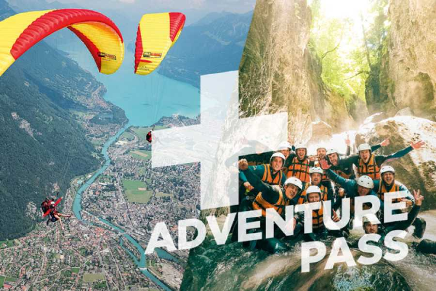 Outdoor Interlaken AG Splash and Fly Lite: Canyoning Interlaken