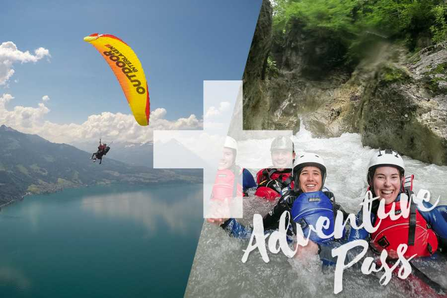 "Outdoor Interlaken AG Splash and Fly ""Lite"": Canyoning Interlaken"