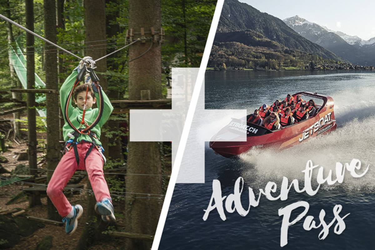 Outdoor Interlaken AG Family Package: Adventure Park and Jetboat