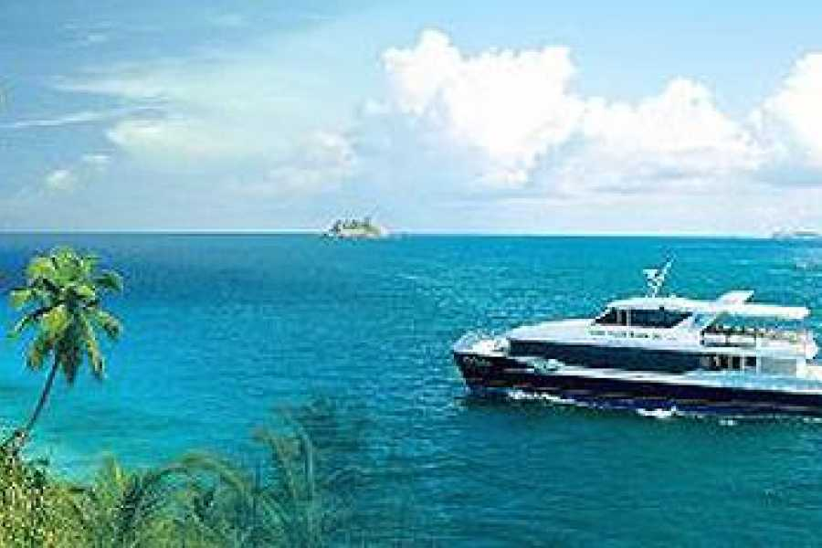 Seychelles Ferries Cat Cocos Mahé - Praslin traghetto veloce prenota online!