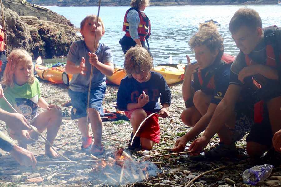 Sea Kayak Devon Ltd Young Family Camp (kids 5 to 11)