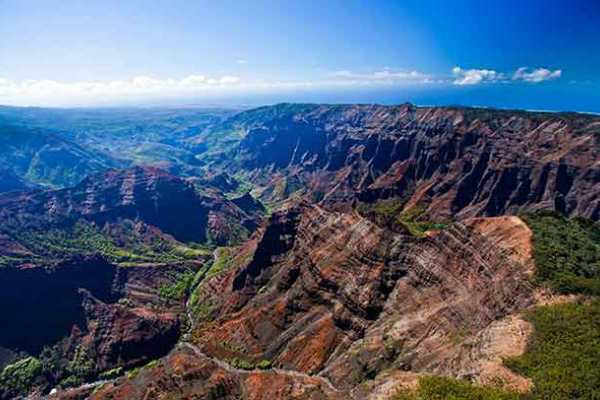 Dream Vacation Builders Oahu to Kauai: Waimea Canyon & Wailua River Adventure Tour