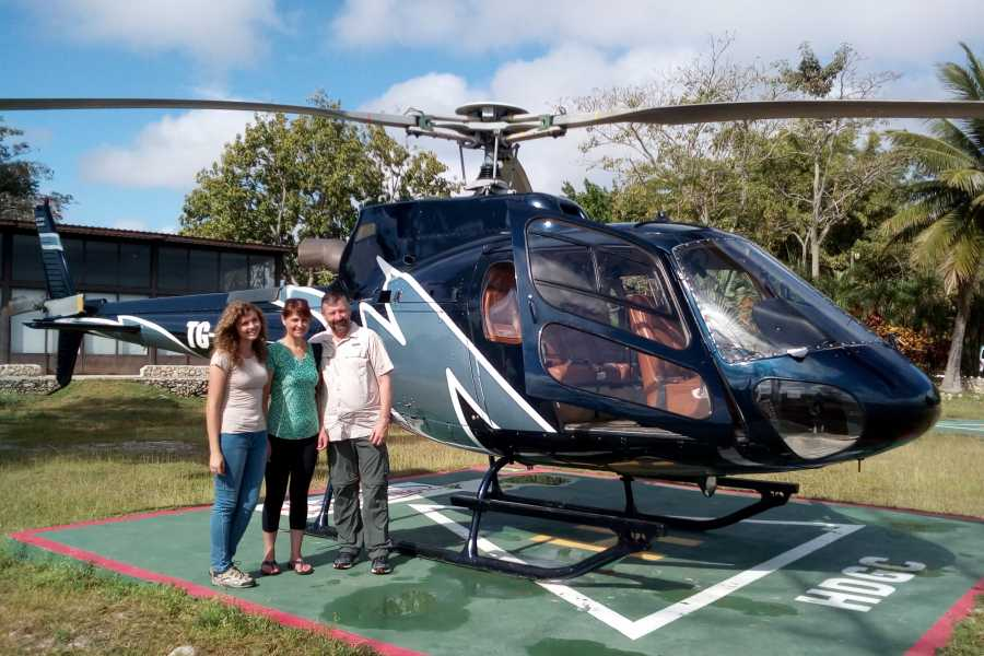 Maya World Tours El Mirador One Day Tour from Flores by Helicopter