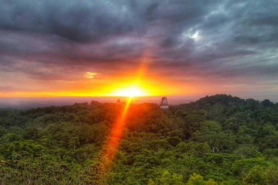 Maya World Tours Tikal Sunrise Tour from Flores