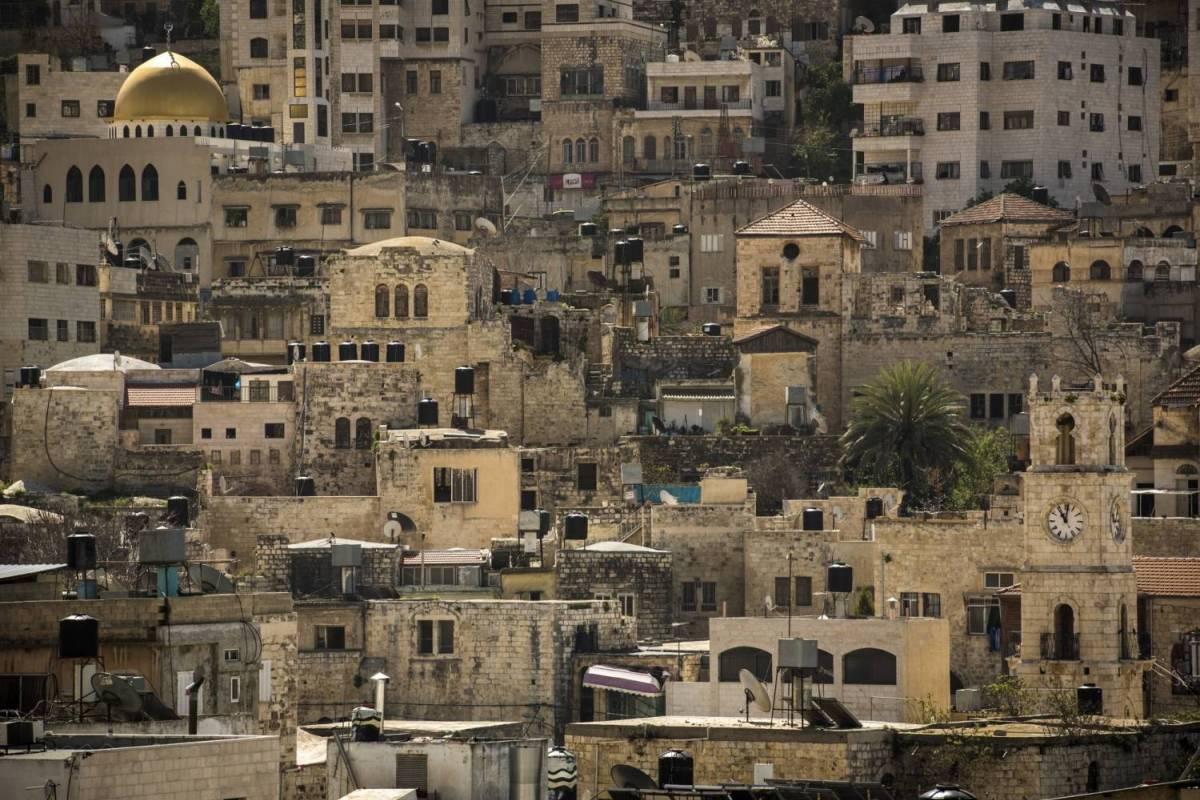 Siraj Center Wednesday, 8th of November 2017 - Sebastia to Nablus - Masar Ibrahim Thru Walk 2017