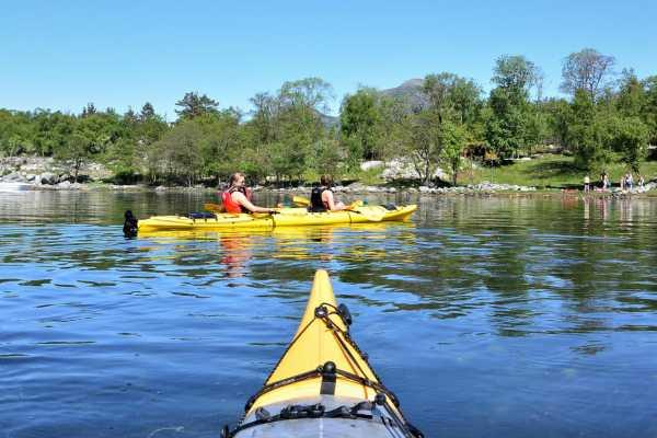 Kayak rental Jørpeland(beginner skills)