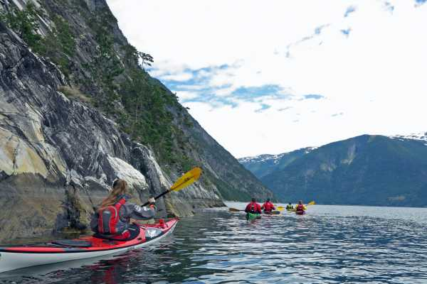 Guided kayak trip 5-6 hours