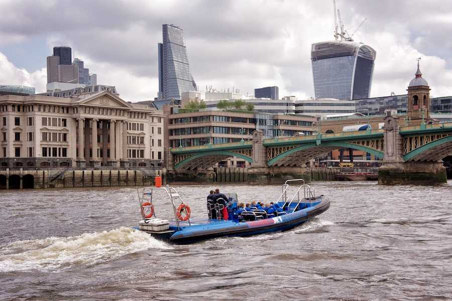 Halal Tourism Britain Speed Jet on Thames