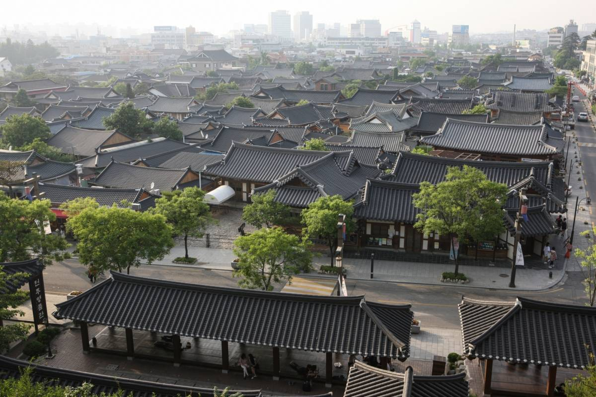 Kim's Travel 40 Séjour au Village de Hanok de Jeonju