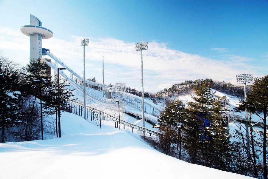 Kim's Travel KD 20 Pyeongchang Olympic Sites