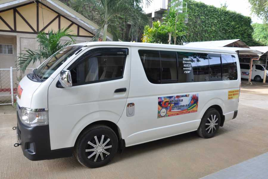 WORLD HOLIDAY TRAVEL AND TOURS One way van transfers from puerto princesa to elnido