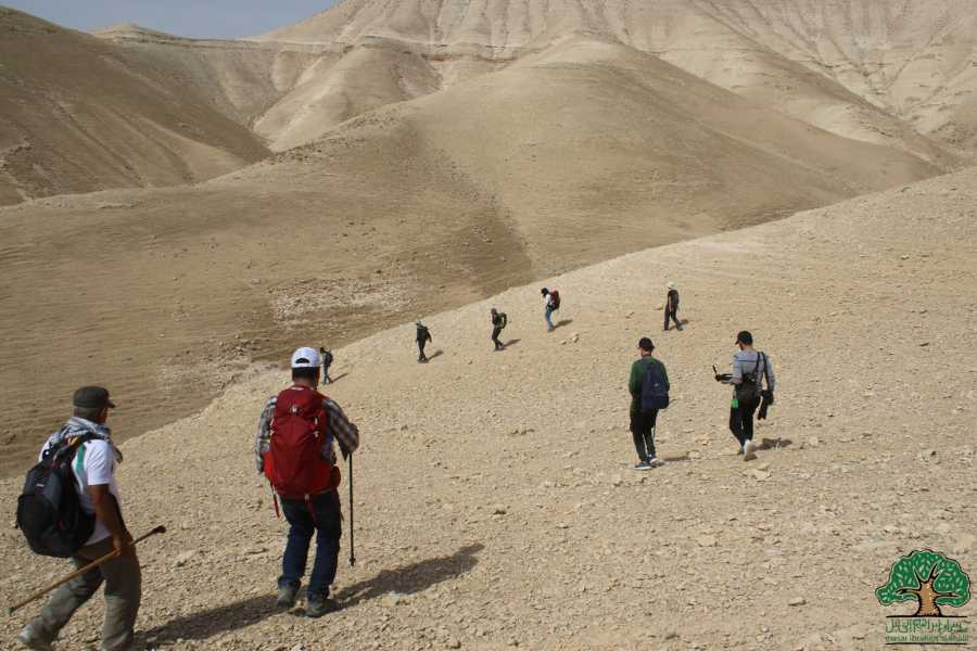 Siraj Center Wednesday, 11 March 2020, Al-'Auja to Jericho, Masar Ibrahim Thru Hike