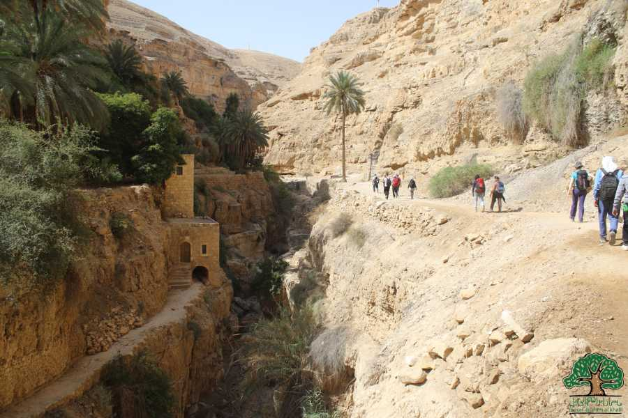 Siraj Center EVERY WEDNESDAY -  JERICHO TO SEA LEVEL ( WADI QELT )