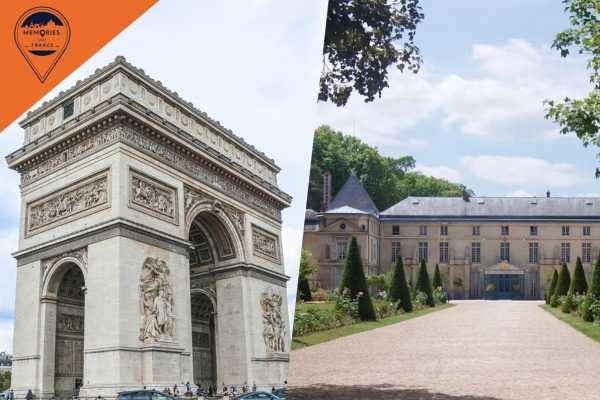 Memories DMC France In the footsteps of Napoleon: The Château de Malmaison & the Arc de Triomphe