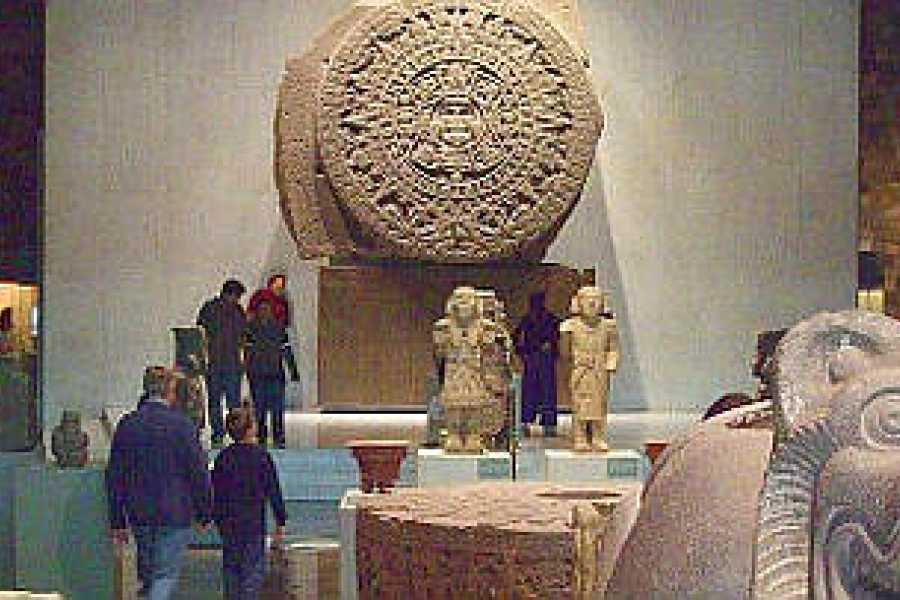 VIAJERO MEXICO Mexiko-Stadt CDMX / Museum für Anthropologie im Chapultepec Park)