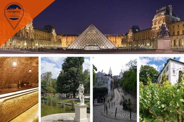 Memories DMC France Art and Wine in Paris: Louvre Museum and Paris Wine Tour including Tastings and VIP visit to a Vineyard