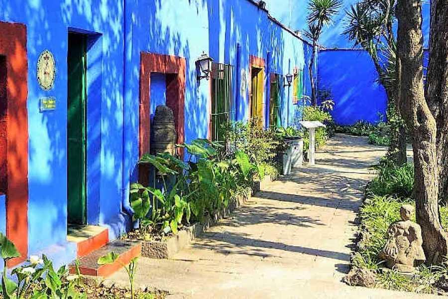 VIAJERO MEXICO Mexiko-Stadt CDMX / Coyoacán & Frida Kahlo