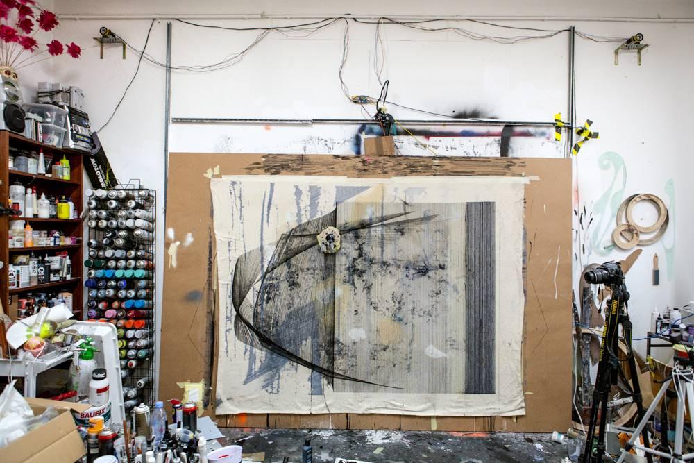 Berlin Art Studio Visit - Marco Reichert - Home