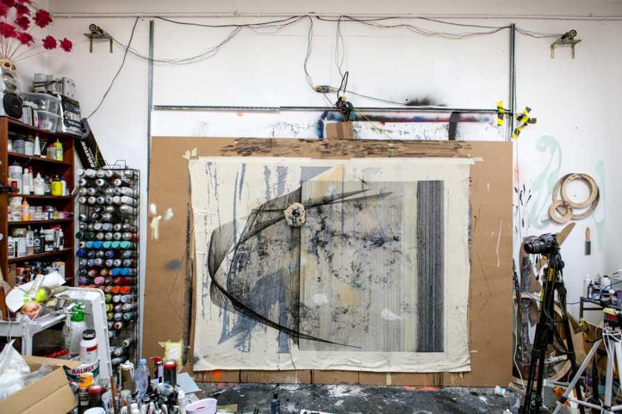 Explorabilia Berlin Art Studio Visit - Marco Reichert