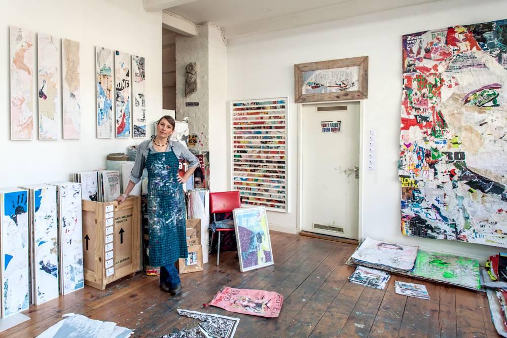 Berlin Art Studio Visit - Pola Brändle - Home