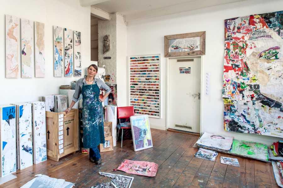 Explorabilia Berlin Art Studio Visit - Pola Brändle
