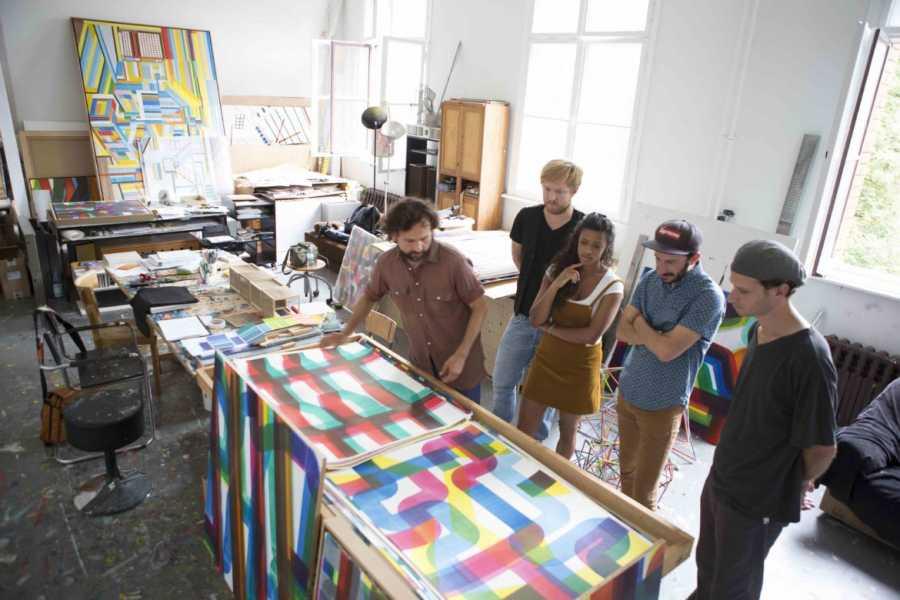 Explorabilia Berlin Art Studio Visit - Carlos Silva