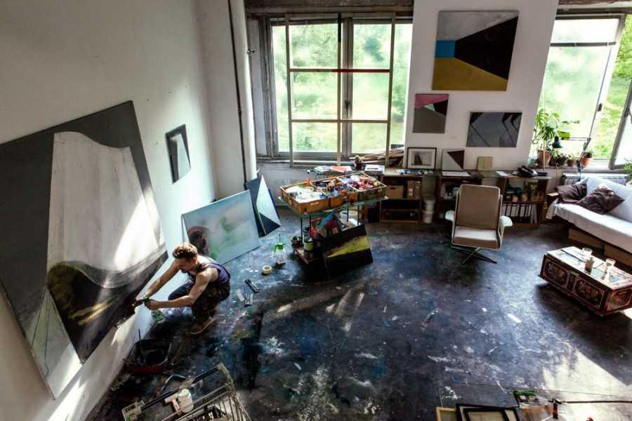 Explorabilia Berlin Art Studio Visit - Marco Kaufmann