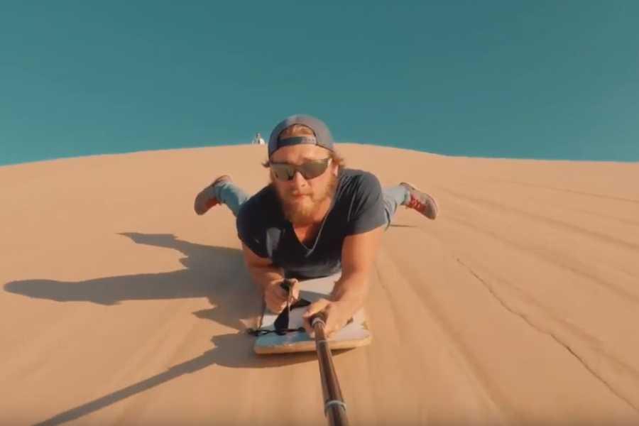 SANDPERU Dune Buggy + SAND SLEDDING