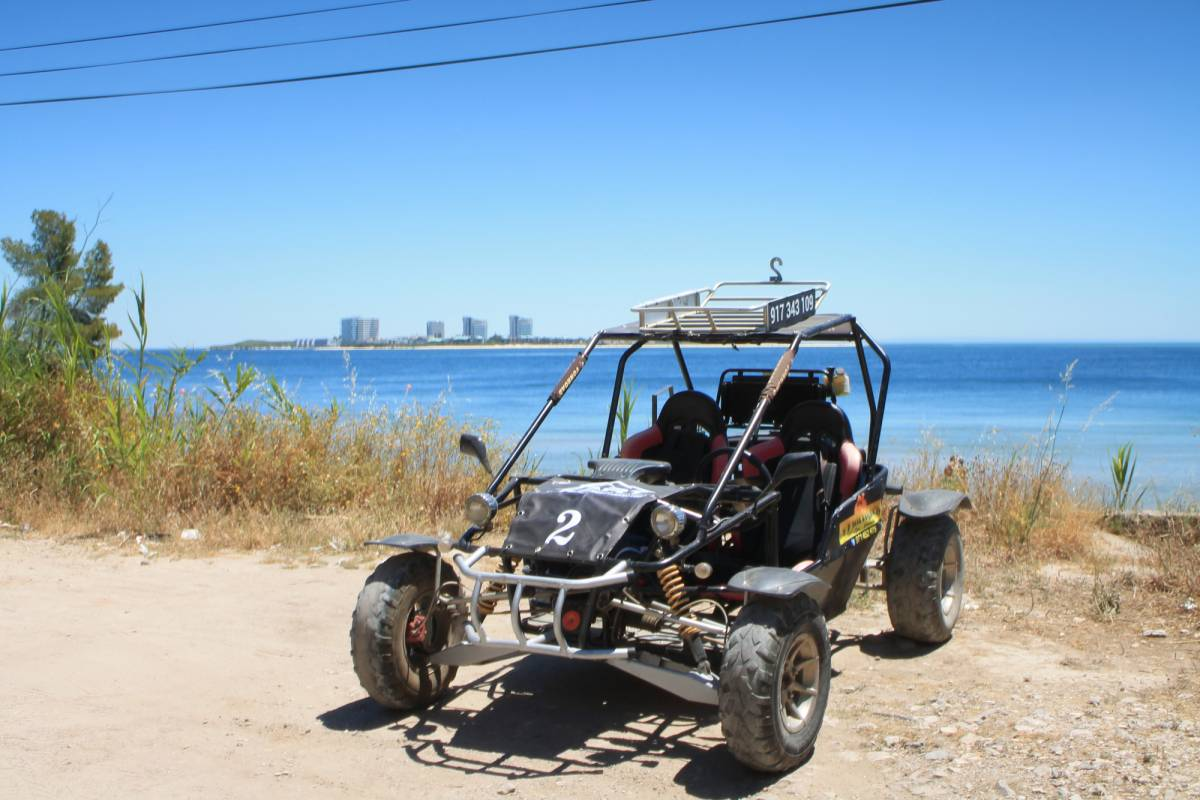 Lisbon On Wheels Arrábida tour with a 4x4 kart adventure