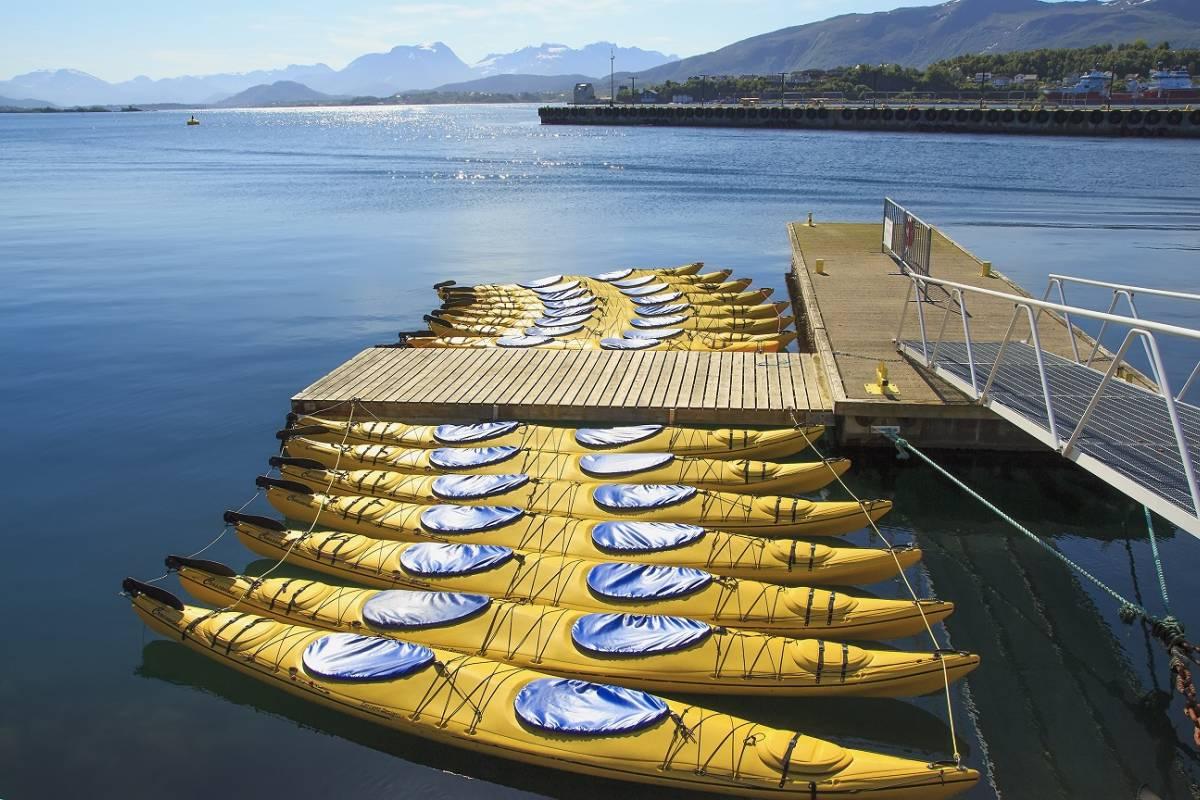 Kayak More Tomorrow AS Tandem Sea Kayak 3 Hours Rental