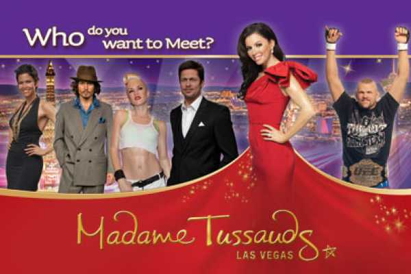 Dream Vacation Builders Madame Tussauds Las Vegas Admission