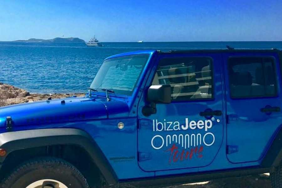 Ibiza Jeep Tours PREMIUM TOUR: PAELLA, CLIFF DIVING, SNORKELING.