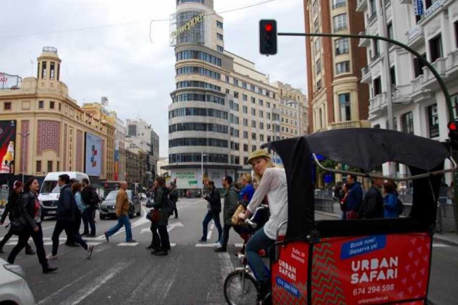 Urban Safari Tours Bike-Taxi: Discover Madrid Tour
