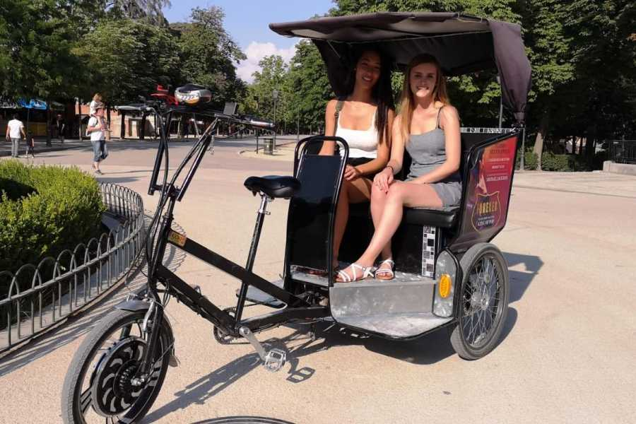 Urban Safari Tours Bici-Taxi: Regreso al Futuro