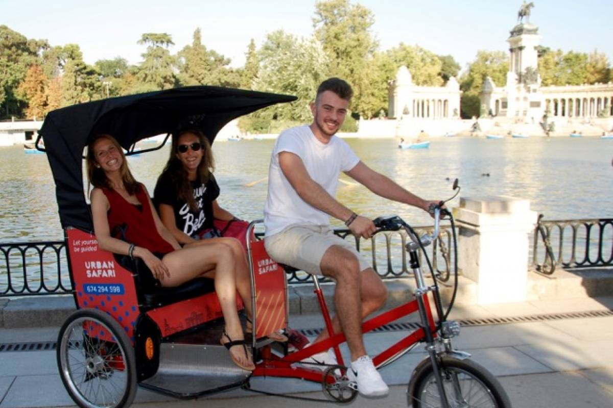 Urban Safari Tours Bici-Taxi: Safari en el Retiro