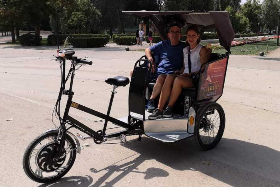 Urban Safari Tours Bike-Taxi: Safari in Retiro Park