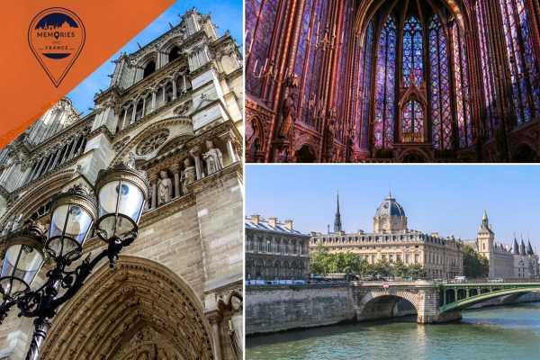Memories DMC France Notre Dame, Sainte Chapelle, Conciergerie &  Ile de la Cité tour