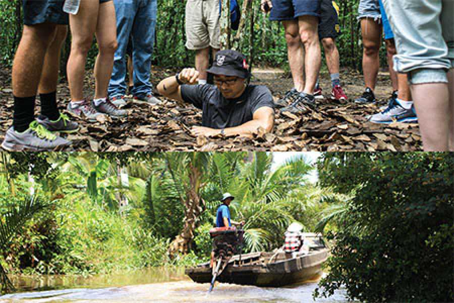 Les Rives Authentic River Experience Cu Chi Tunnels and Mekong Delta package