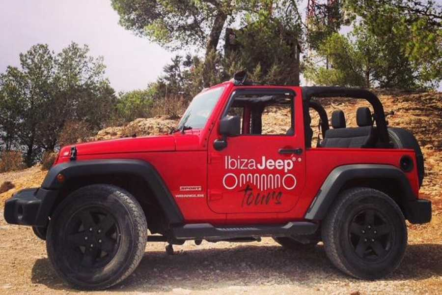 Ibiza Jeep Tours Jeep Wrangler SPORT 3d