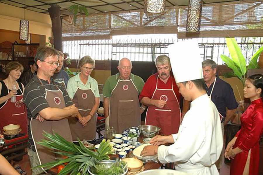 Les Rives Authentic River Experience Cooking Class and Sunset Cruise