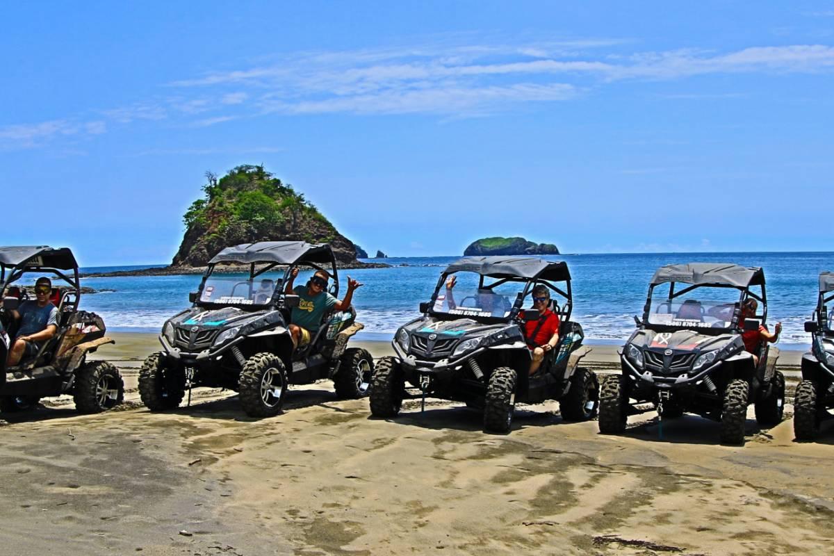 Kelly's Costa Rica UTV surf trip south
