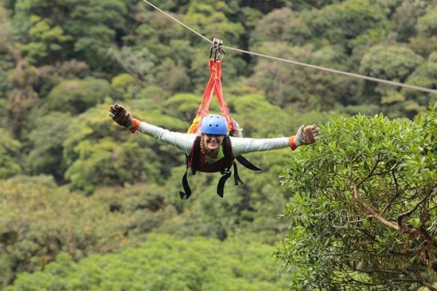 Kelly's Costa Rica Monteverde Cloud Forest - Extreme Adventure -