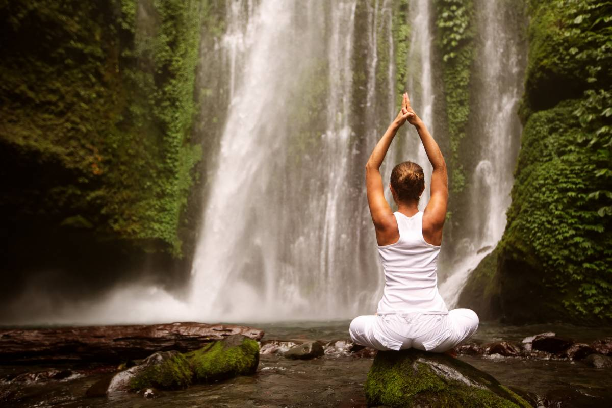 Kelly's Costa Rica Waterfall meditation tour