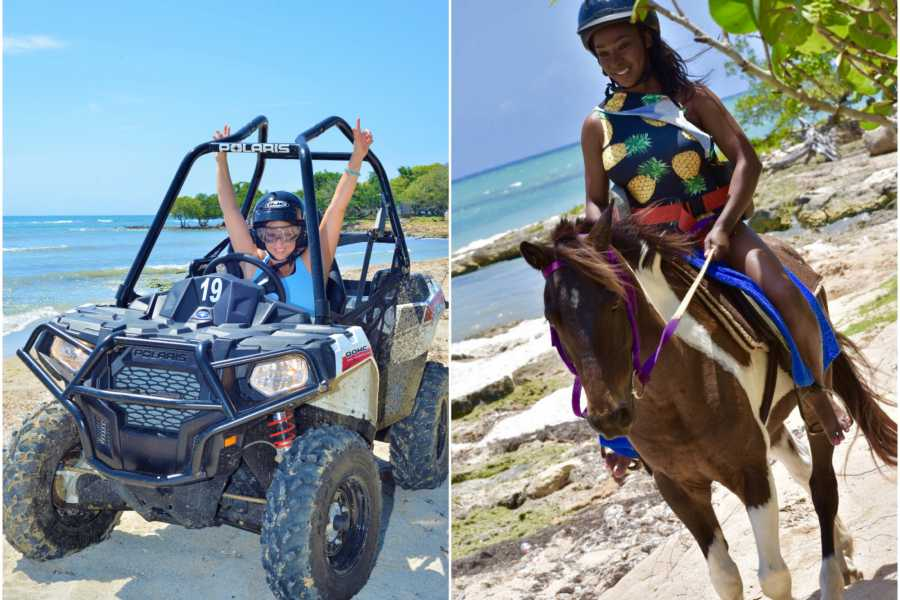 Jamwest Motorsports and Adventure Park Combo Horse Back riding + ATV + lunch