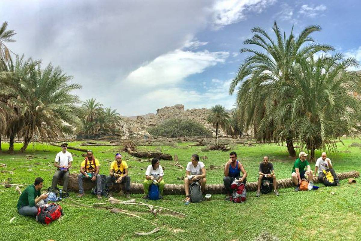 Adventurati Outdoors Backpacking Wadi of the Giants - UAE