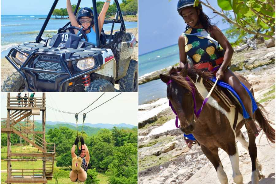 Jamwest Motorsports and Adventure Park Super Deal (zip,horseback, lunch, atv)