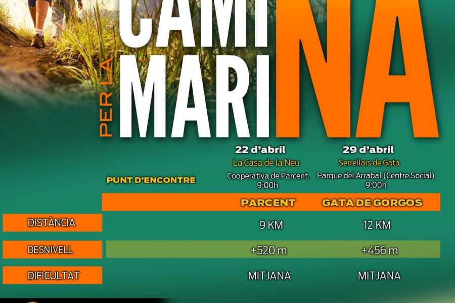 TURURAC. Turismo Activo y de Aventura Camina per la Marina !!!