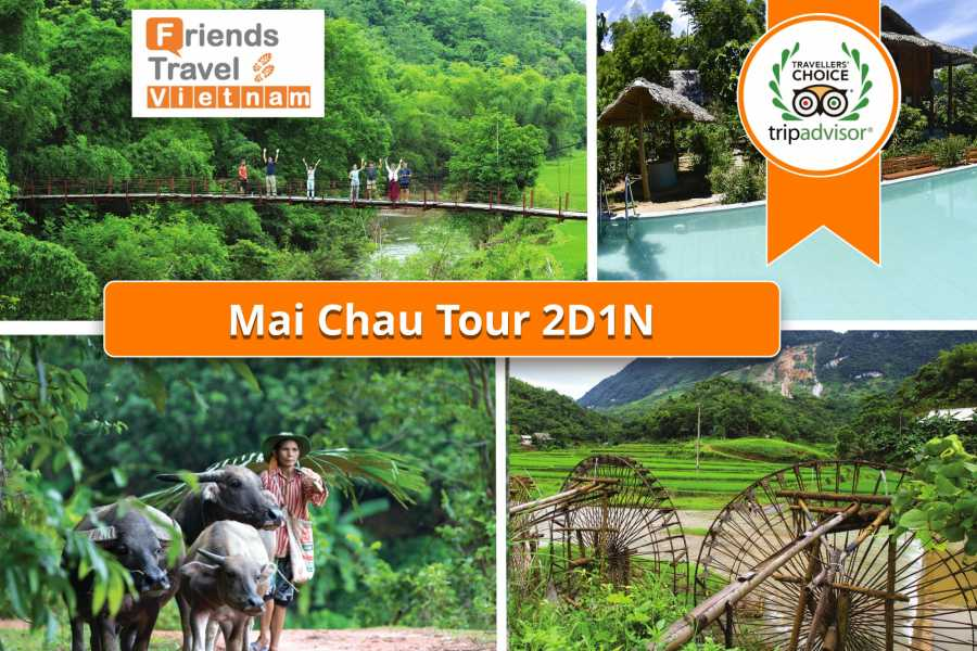 Friends Travel Vietnam Mai Chau tour 2D1N