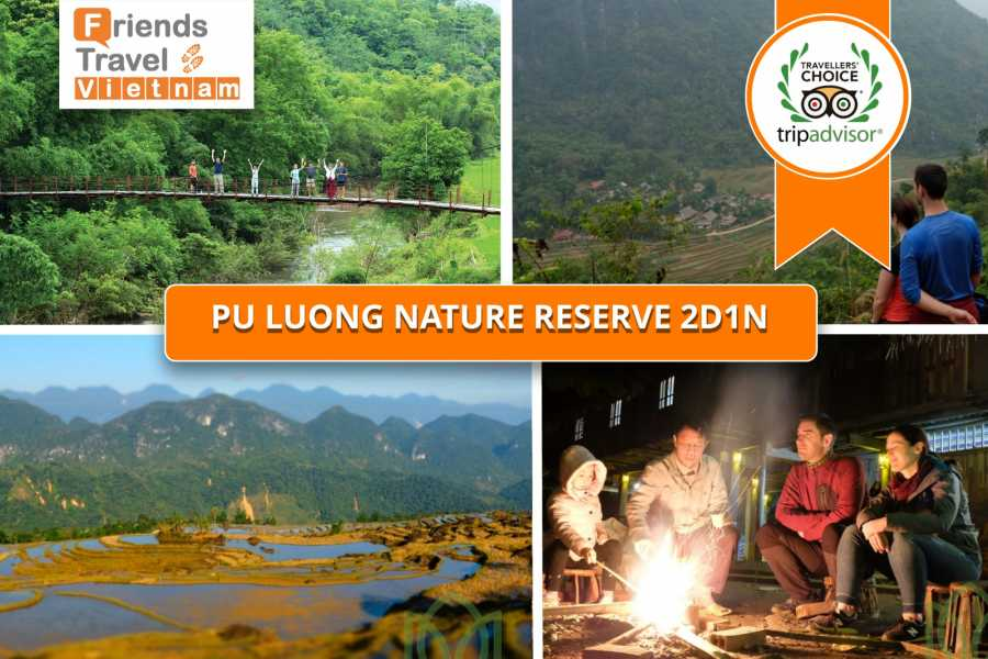 Friends Travel Vietnam Pu Luong Nature Reserve Tour 2D1N