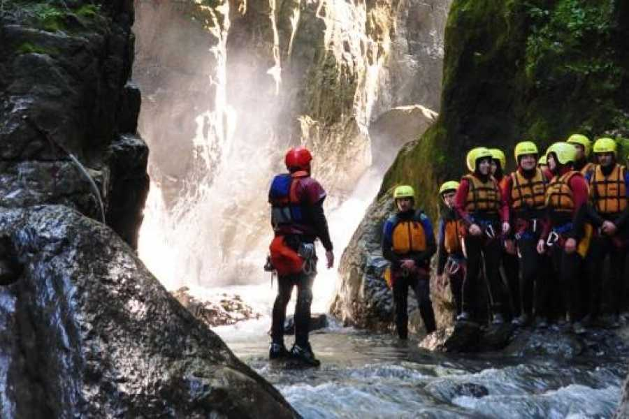 Alpin Raft GmbH Canyoning Saxeten